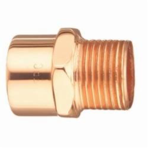 EPC 10030350 104-R Solder Reducing Male Adapter, 1 x 1-1/2 in, C x MNPT, Copper, Domestic