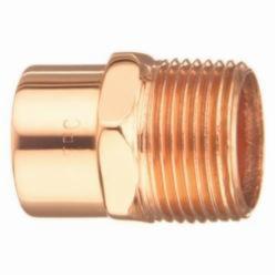 EPC 10030388 104 Solder Male Adapter, 2-1/2 in, C x MNPT, Copper, Domestic