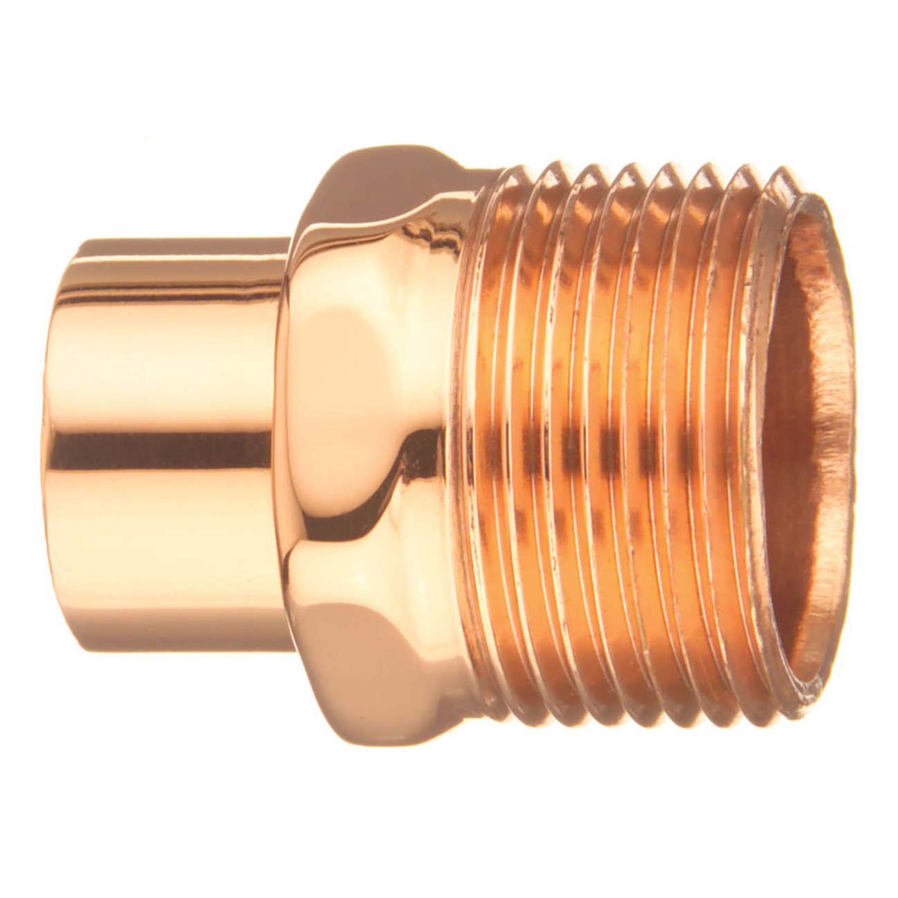 EPC 10030444 104-2 Solder Male Street Adapter, 3/4 in, Fitting x MNPT, Copper, Domestic