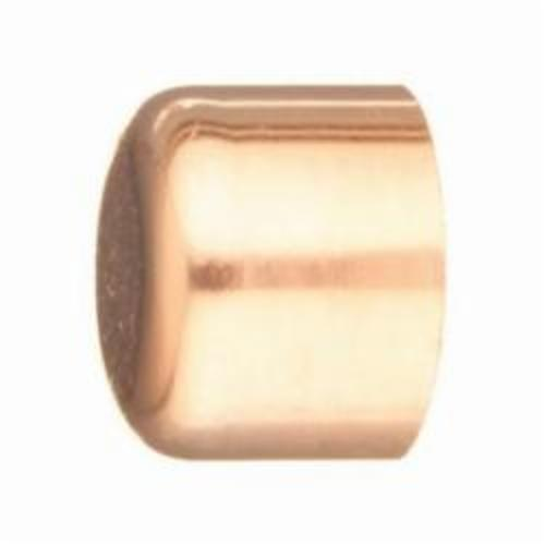 EPC 117 Solder Tube Cap, 1 in, C x C, Copper, Domestic
