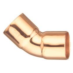 EPC 10031086 106 Solder Tube 45 deg Elbow, 1/4 in, C, Copper, Domestic