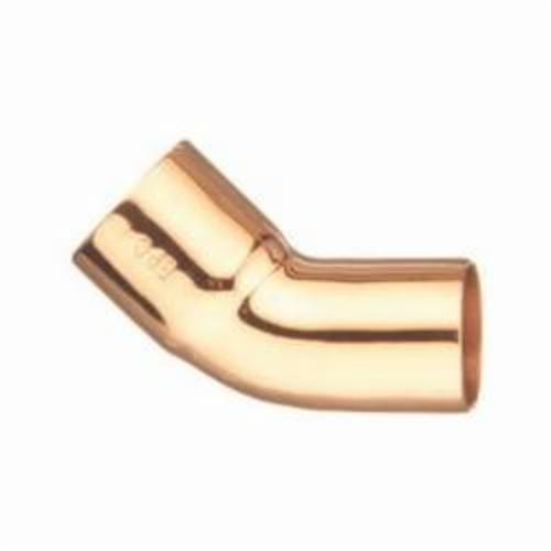 EPC 10031206 106-2 Solder Street 45 deg Elbow, 1 in, Fitting x C, Copper, Domestic