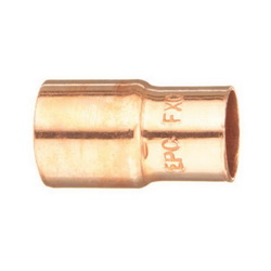 EPC 10032064 118 Solder Concentric Fitting Reducer, 3/4 x 1/2 in, Fitting x C, Copper, Domestic