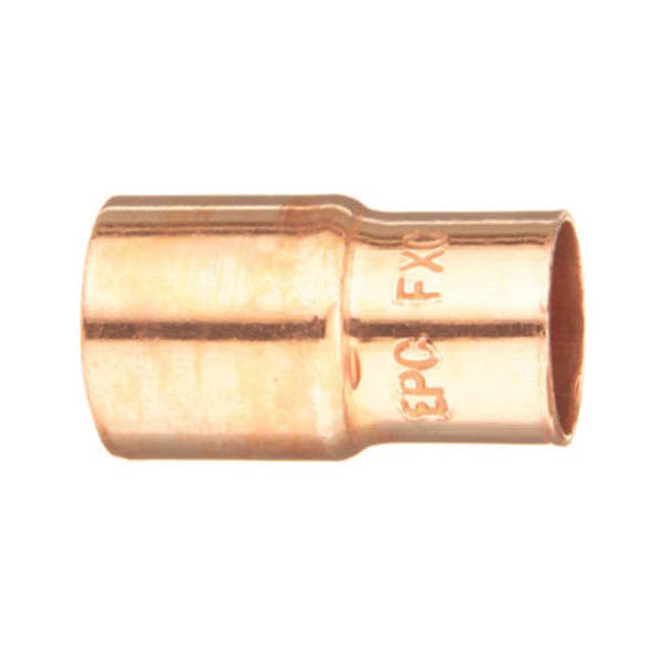 EPC 10032094 118 Solder Concentric Fitting Reducer, 1-1/2 x 3/4 in, Fitting x C, Copper, Domestic
