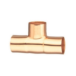 EPC 10032910 111 Solder Tube Tee, 1-1/2 in, C x C x C, Copper, Domestic