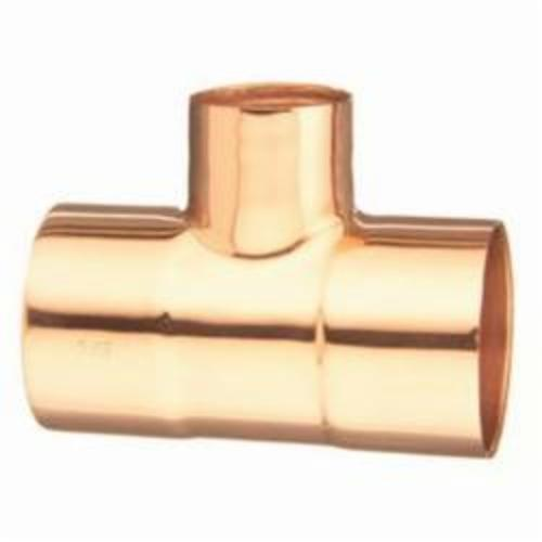 EPC 10032960 111-R Solder Reducing Tee, 1-1/2 x 1/2 x 1-1/2 in, C x C x C, Copper, Domestic