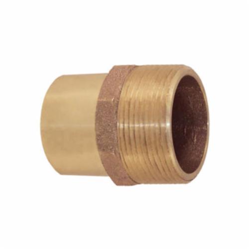 EPC 10034417 47042 Solder Male Street Adapter, 2-1/2 in, C x Male, Cast Brass