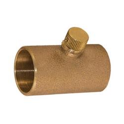 EPC 10051006 4175 Solder Drain Coupling, 1/2 in, C x C, Cast Brass