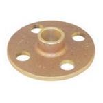 EPC 10035666 4741 Solder Companion Flange, 3 in, Cast Brass, C x C, 125 lb