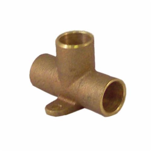 EPC 10037742 47115 Solder Drop Ear Tee, 1/2 in, C x C x C, Cast Brass