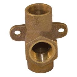 EPC 10056968 4712-5 Solder Drop Ear Tee, 3/4 in, C x C x F, Cast Brass