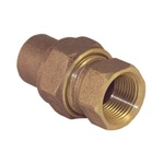 EPC 10037967 4733-3 Solder Female Union, 1/2 in, C x Female, Cast Brass