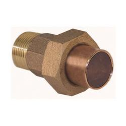 EPC 10056708 4733-4 Solder Male Union, 1-1/4 in, C x Male, Cast Brass