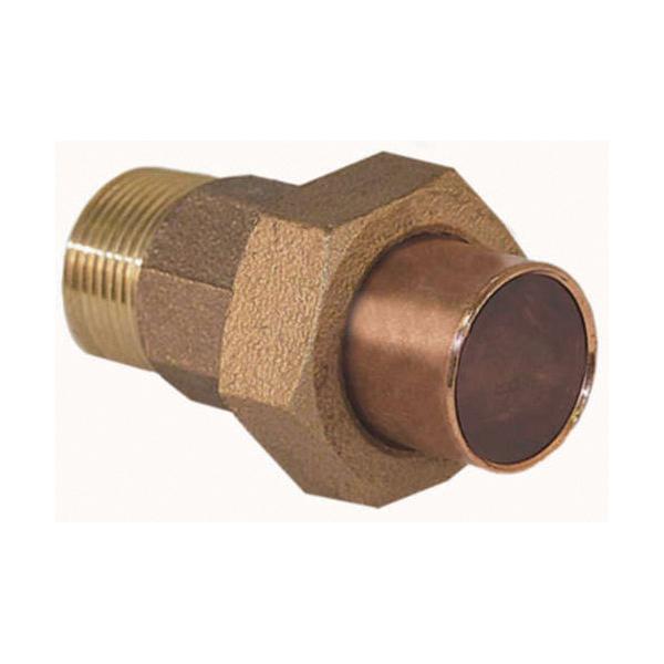 EPC 10037996 4733-4 Solder Male Union, 1 in, C x Male, Cast Brass