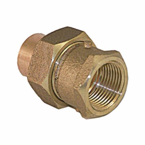EPC 10042062 7103 Solder Flared Female Adapter, 3/4 in, C x C, Cast Brass