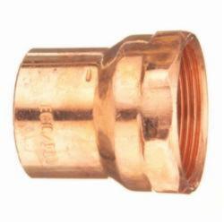EPC 10046000 303 Solder DWV Female Adapter, 1-1/4 x 1-1/4 in, C x Fitting, Copper, Domestic