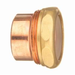 EPC 10046122 301-2-7 Solder DWV Trap Adapter, 1-1/2 in, Fitting x Slip Joint, Copper, Domestic
