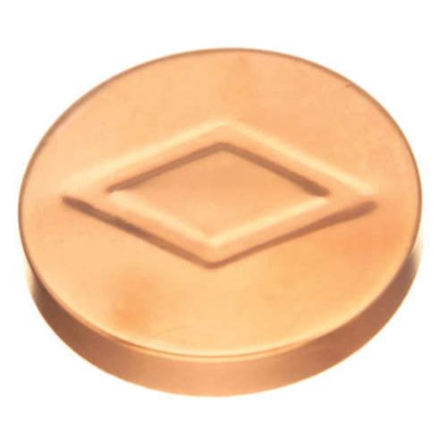 EPC 10046206 316-T Solder DWV Test Cap, 1-1/4 in, C x C, Wrought Copper, Domestic