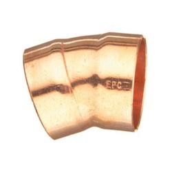 EPC 10046334 308 Solder DWV 22.5 deg Elbow, 2 in, C x C, Wrought Copper