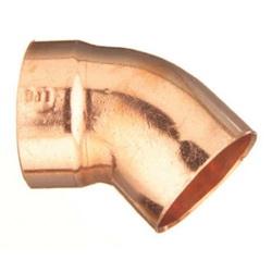 EPC 10046376 306-2 Solder DWV Street 45 deg Elbow, 3 in, C x Fitting, Copper, Domestic