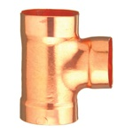 EPC 10046580 311 Solder DWV Sanitary 90 deg Tee, 3 in, C x C x C, Wrot Copper