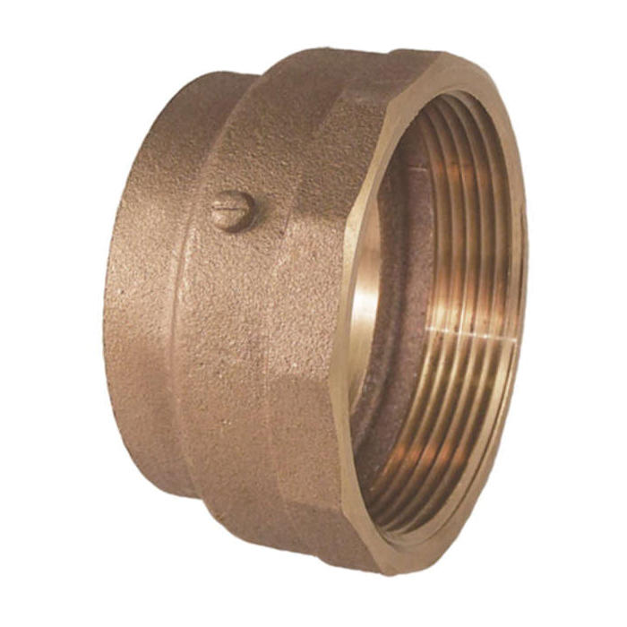 EPC 10047102 5803-2 Solder DWV Female Fitting Adapter, 2 in, Fitting x F, Cast Brass