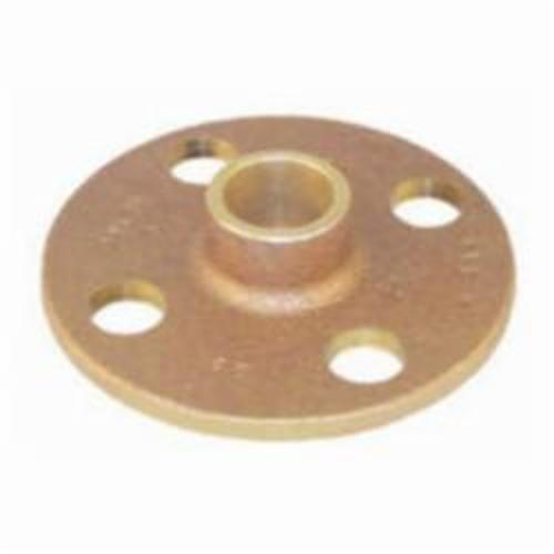 EPC 10056630 4741 Solder Companion Flange, 2-1/2 in, C x C, Brass, 125 lb, 7 in OD, Domestic