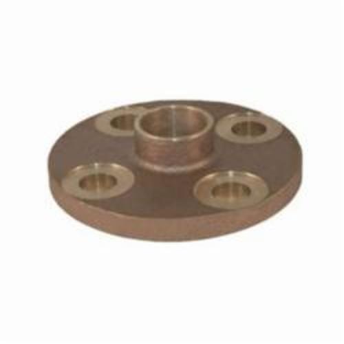 EPC 10056648 4741 Solder Companion Flange, 2 in, C x C, Brass, 150 lb, 6 in OD, Domestic