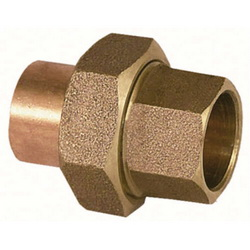 EPC 10056672 4733 Solder Union, 1 in, C x C, Brass, Domestic