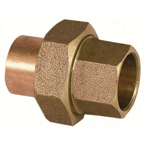 EPC 10056678 4733 Solder Union, 1-1/2 in, C x C, Brass, Domestic