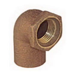 EPC 10056816 4707-3 Female Adapter 90 deg Elbow, 1/2 in, C x Female, Brass, Domestic