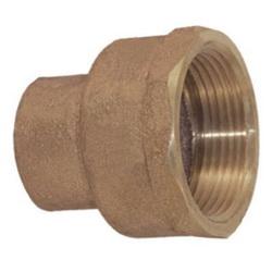EPC 10056904 4703 Female Adapter, 4 in, C x FNPT, Brass, Domestic