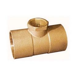 EPC 10056954 4712-R Solder Reducing Tee, 1 x 1 x 1/2 in, C x C x FNPT, Brass, Domestic
