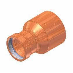 EPC APOLLOXPRESS® 10057503 818 Large Diameter Press Fitting Reducer, 4 x 2-1/2 in, Fitting x C, Copper, Domestic
