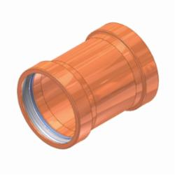 EPC APOLLOXPRESS® 10061937 801 Press Coupling Without Stop Large Diameter, 3 in, C, Copper, Domestic