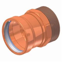 EPC APOLLOXPRESS® 10061992 804 Large Diameter Press Adapter, 4 in, C x MNPT, Copper, Domestic