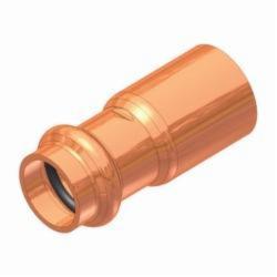 EPC APOLLOXPRESS® 10075154 818 Small Diameter Press Fitting Reducer, 1-1/4 x 3/4 in, Fitting x C, Copper, Domestic