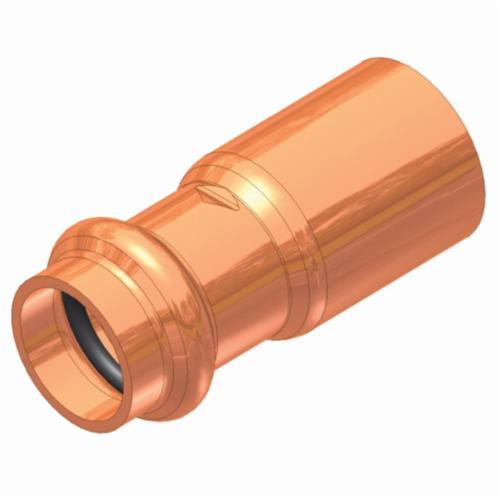 EPC APOLLOXPRESS® 818 Lead Free Press Reducer, 1-1/2 x 1/2 in, FTG x C, Copper, Domestic