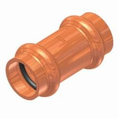 EPC APOLLOXPRESS® 10075504 800 Small Diameter Press Tube Coupling With Stop, 1 in, C, Copper, Domestic