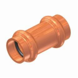 EPC APOLLOXPRESS® 10075515 801 Small Diameter Press Tube Coupling, 3/4 in, C, Copper, Domestic