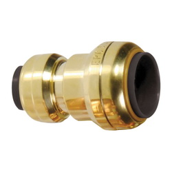 EPC TECTITE™ 10155458 201R Push Reducer Coupling, 3/4 x 1/2 in, C x C, Brass