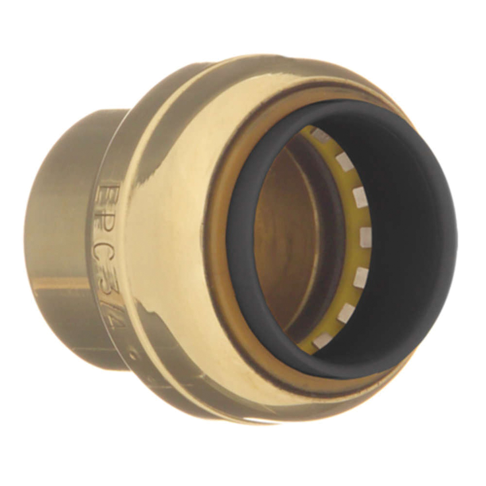 EPC TECTITE™ 10155500 217 Push Tube Cap, 1/2 in, C, Brass