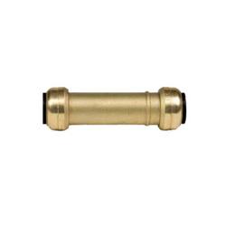 EPC TECTITE™ 10155518 201 Push Slip Coupling, 1 in, C x C, Brass