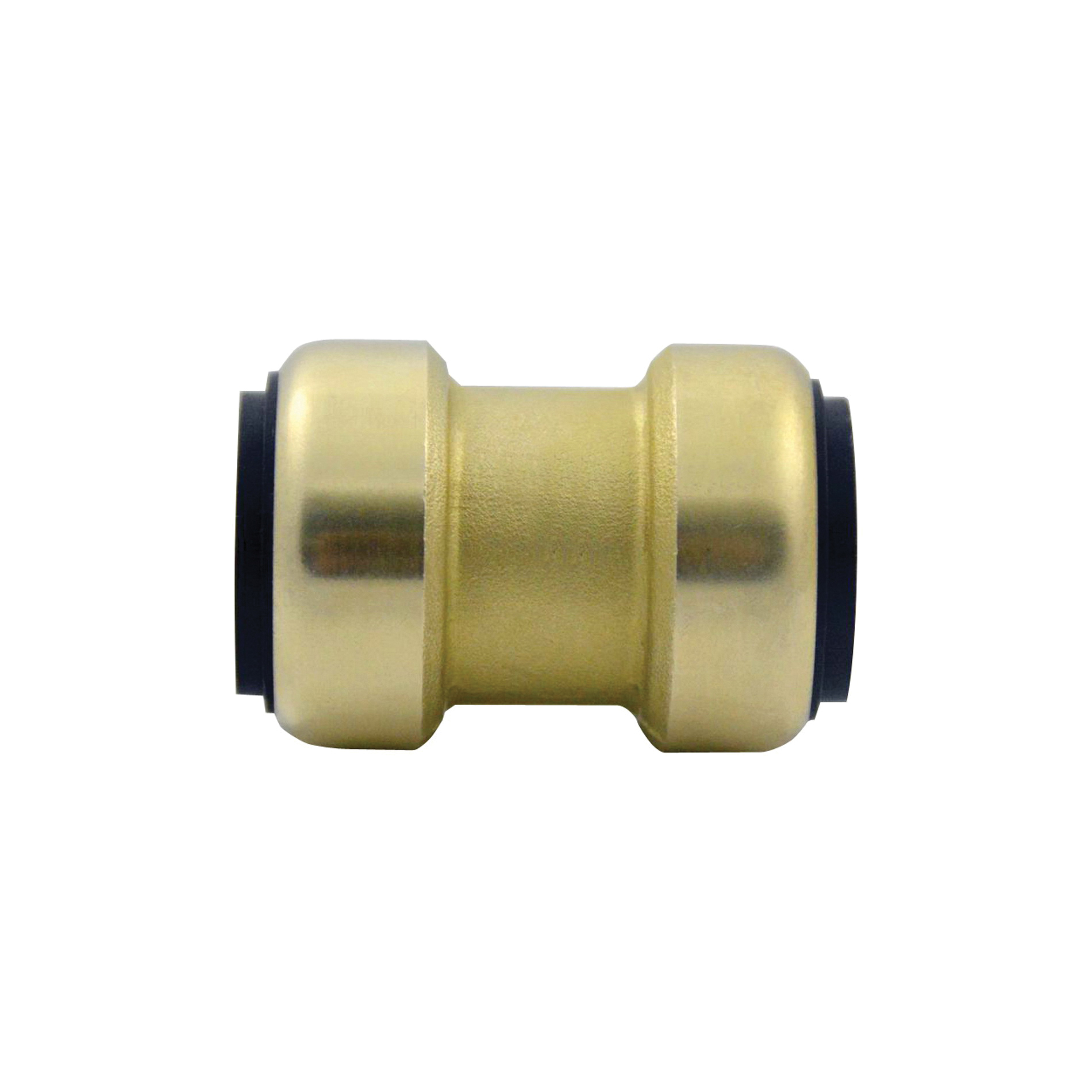 EPC TECTITE™ 200 Push Lead Free Coupling With Stop, 1 in, C x C, Brass