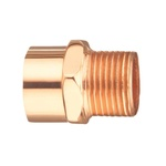 EPC 10030448 104R-2 Solder Male Reducing Street Adapter, 3/4 x 1/2 in, Fitting x M, Wrot Copper