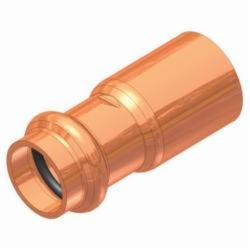 EPC APOLLOXPRESS® 10075164 818 Small Diameter Reducer, 2 x 1-1/2 in, Fitting x C, Copper