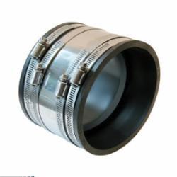 Fernco® 1002-44SR 1002 SR Shear Ring Coupling, 4 in, Clay x Cast Iron, PVC