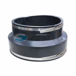 Fernco® 1006-2121 Standard Stock Coupling, 21 in, Concrete x Cast Iron/Plastic, 60 Duro Shore A Flexible PVC, Domestic