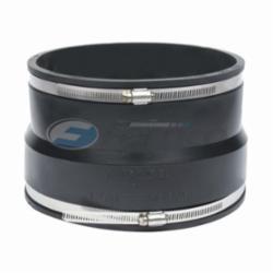 Fernco® 1051-88 Flexible Pipe Coupling, 8 in, AC/Ductile Iron x Cast Iron/Plastic, PVC, Domestic