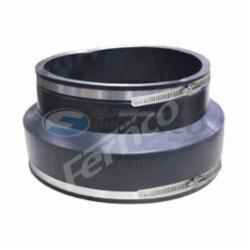 Fernco® 1056-1210 Flexible Pipe Coupling, 12 x 10 in, PVC, PVC, Domestic